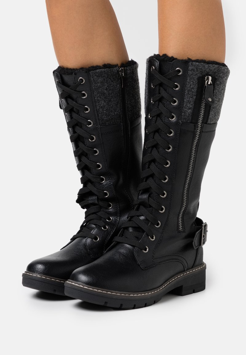 Anna Field - Lace-up boots - black