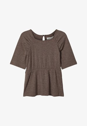 RIPPDESIGN - Blouse - deep taupe