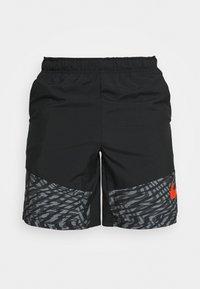 Nike Performance - SHORT 3.0  - Korte sportsbukser - black/team orange - 4