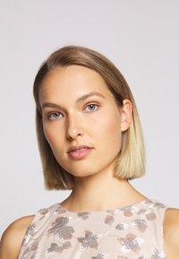 Lauren Ralph Lauren - ASTOR LONG GOWN - Vestido de fiesta - belle rose/silver - 3