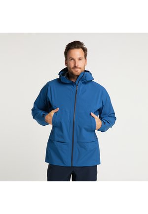 Soft shell jacket - true blue