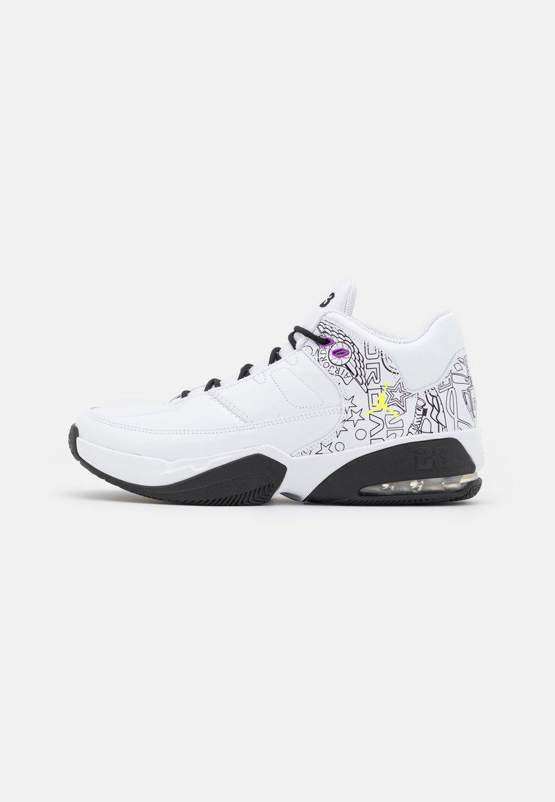 Jordan - MAX AURA 3 DIY UNISEX - Zapatillas de baloncesto - white/black/hyper violet/university blue/volt