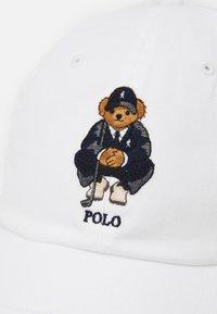 Polo Ralph Lauren Golf - BEAR HAT - Lippalakki - white - 5