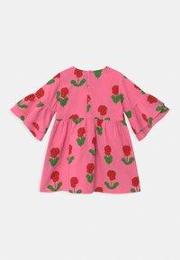 Mini Rodini - VIOLAS WOVEN FLARED SLEEVE  - Košilové šaty - pink - 1