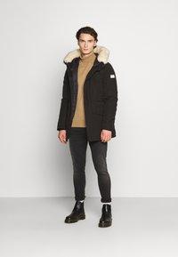 Nagev - Zimní kabát - black - 1