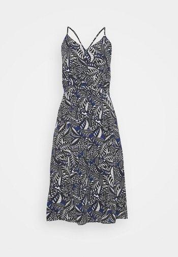 LINDSEY AFRICANA - Korte jurk - blue