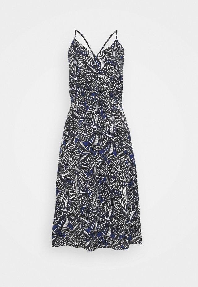 LINDSEY AFRICANA - Sukienka letnia - blue