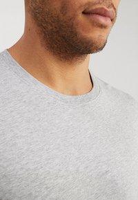 Benetton - BASIC CREW NECK - Bluzka z długim rękawem - light grey - 4
