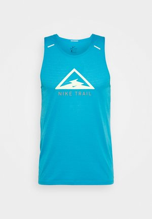 RISE 365 TANK TRAIL - Funktionsshirt - laser blue/barely volt