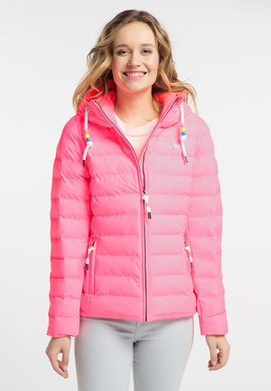 Winter jacket - neon pink