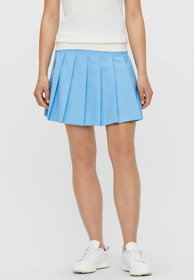 ADINA - Sports skirt - ocean blue