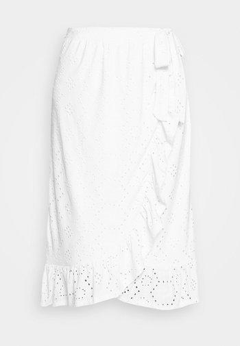 Wrap skirt - snow white