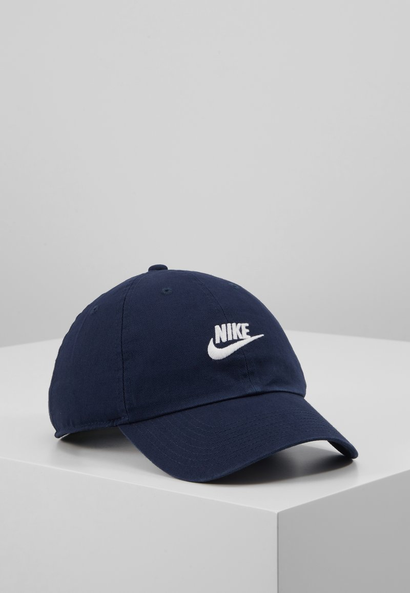 Nike Sportswear - FUTURA WASHED - Cap - obsidian/obsidian/white