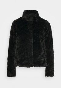 VILA PETITE - VIALIBA JACKET - Winter jacket - black - 3