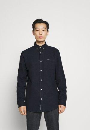 BRUSHED SHIRT - Overhemd - navy