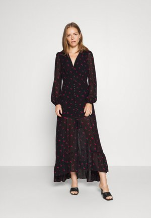 DASHAMIRA DRESS - Robe longue - black/pink