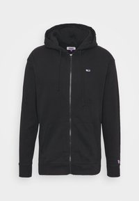 Tommy Jeans - CLASSICS ZIPTHROUGH - Mikina na zip - black - 4