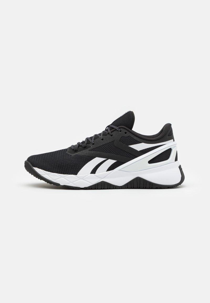 Reebok - NANOFLEX TR - Sports shoes - core black/footwear white