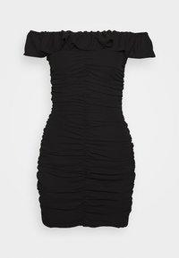 Who What Wear - PARTY DRESS - Etuikjole - black - 4
