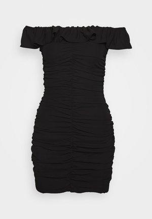 PARTY DRESS - Shift dress - black