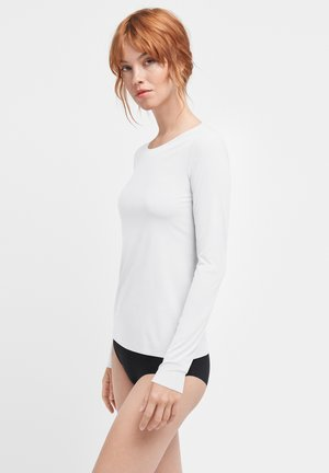 AURORA PURE  - Long sleeved top - white