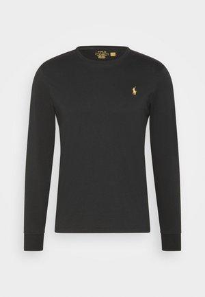 Långärmad tröja - black/gold