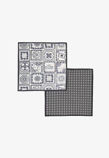 2ER-PACK IN - Šátek na hlavu - black/ white
