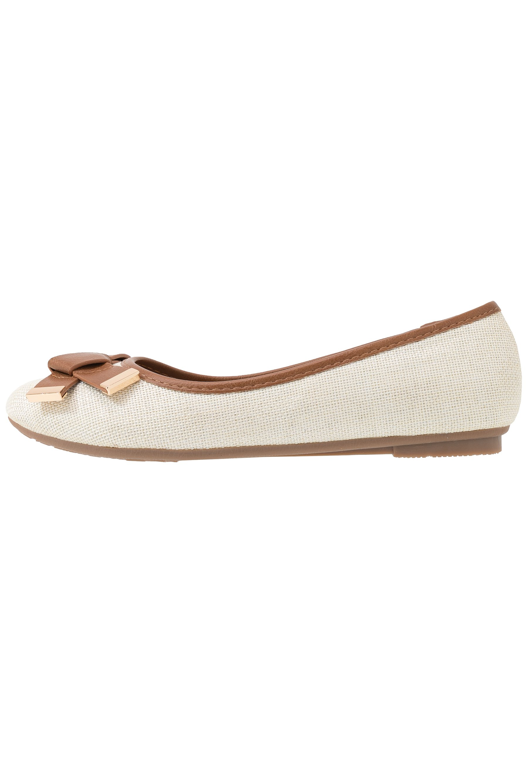 BRUNCHIE Ballerinaskor beige