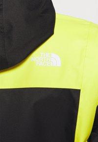 The North Face - FARSIDE JACKET - Veste Hardshell - yellow/black - 4