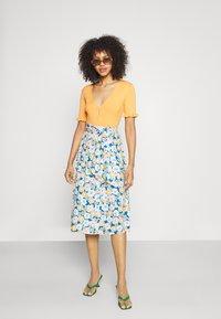 Monki - A-line skirt - multi-coloured - 1