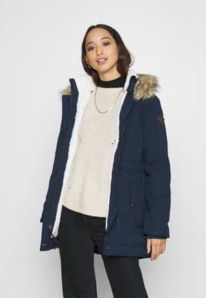 Parka - navy/cream