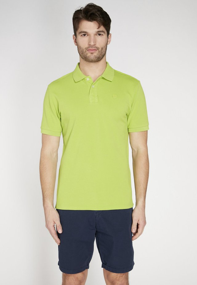 Poloshirt - lime green