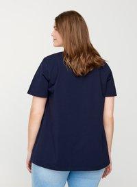 Zizzi - Basic T-shirt - dark blue - 2