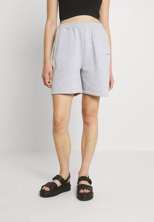 LOGOCOLLAGE - Shorts - greymelange