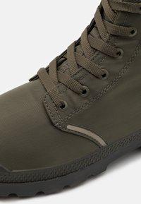 Palladium - PAMPA LITE+ WP+ UNISEX - Lace-up ankle boots - olive night - 5