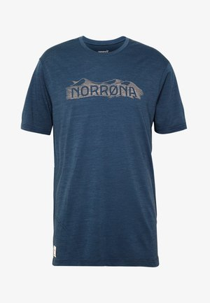 SVALBARD  - T-shirt print - indigo night