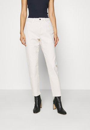 MODERN TAPE - Straight leg jeans - off-white