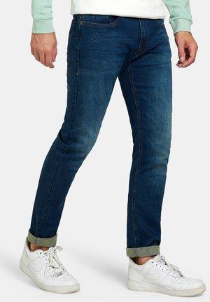 LUCAS SLIM GYM DARK DENIM L32 - Slim fit jeans - blue