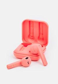 Happy Plugs - AIR 1 GO UNISEX - Kuulokkeet - peach - 2