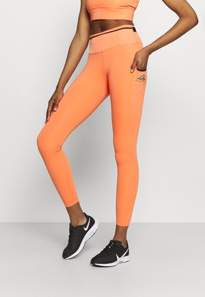 EPIC LUXE TRAIL - Legging - magic ember/black/reflective silver
