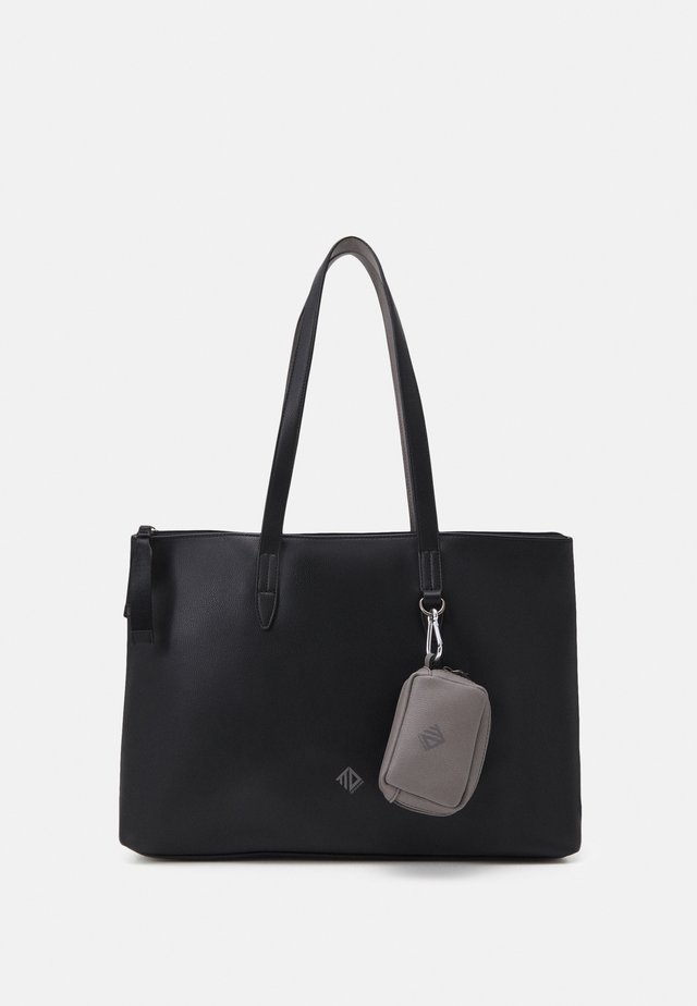 BLANCA SET - Shopping bag - black