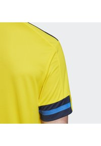 adidas Performance - SWEDEN SVFF HOME JERSEY - Landsholdstrøjer - yellow/indigo - 5