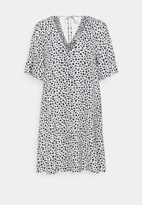 Day dress - white/black