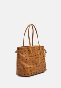 MCM - PROJECT SHOPPER - Shoppingveske - cognac - 4