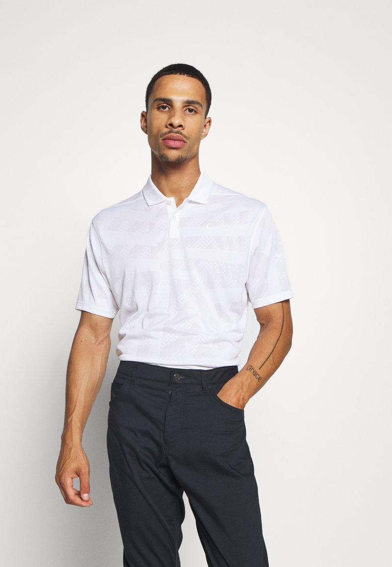 Nike Golf - DRY VAPOR - Funkční triko - white/white