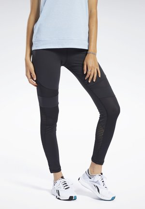 REEBOK LUX COLORBLOCK TIGHTS 2.0 - Tights - black