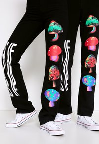 AS IF Clothing - PSYCHO PANTS UNISEX - Jeans baggy - denim - 4