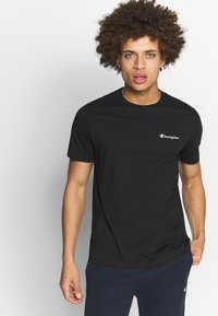 Champion - CREWNECK  - T-shirt basic - black - 0
