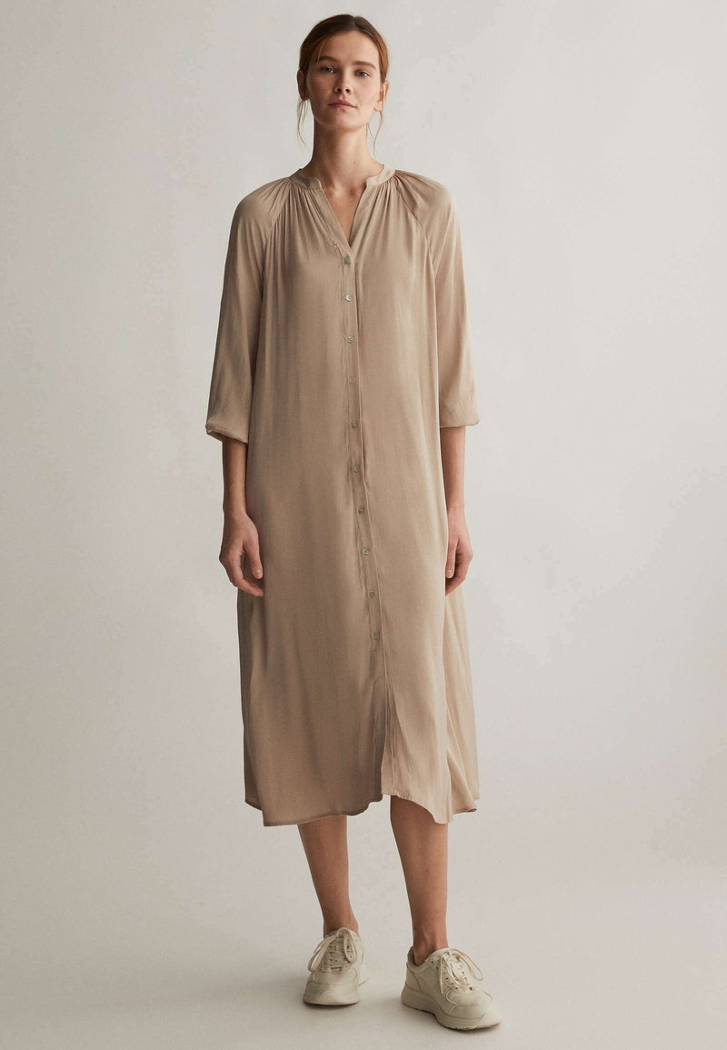OYSHO - Shirt dress - beige