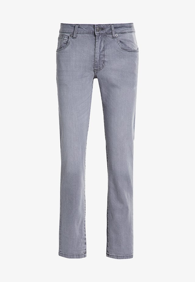 Jeans baggy - mid grey